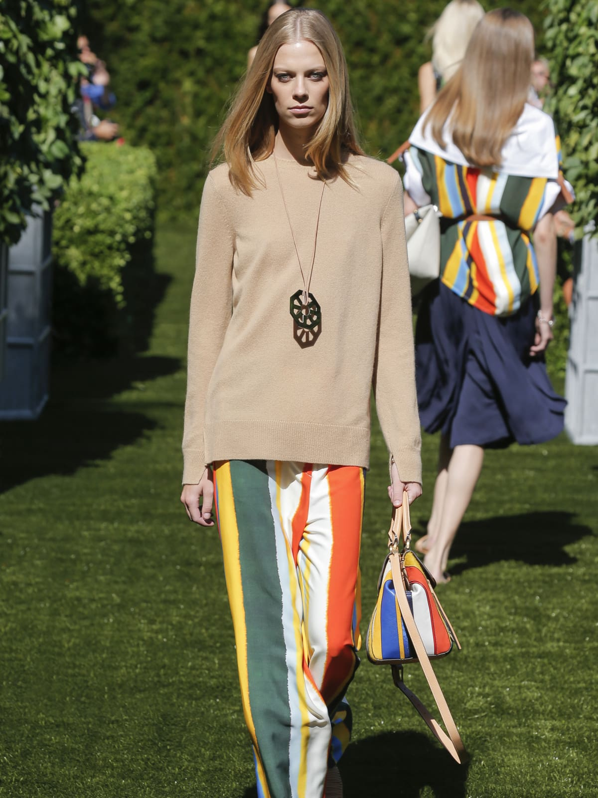 Tory Burch spring 2018 look 34