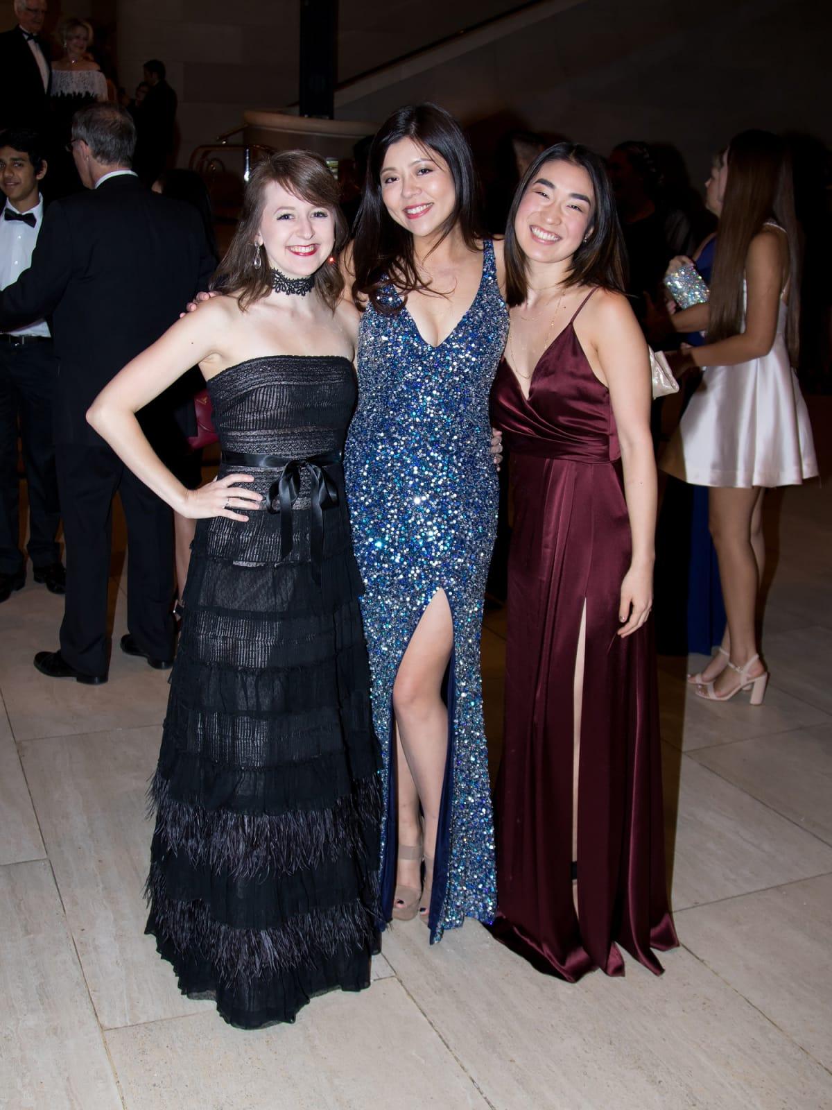 Lauren Densinger, Florence Wang, Niki Fukada