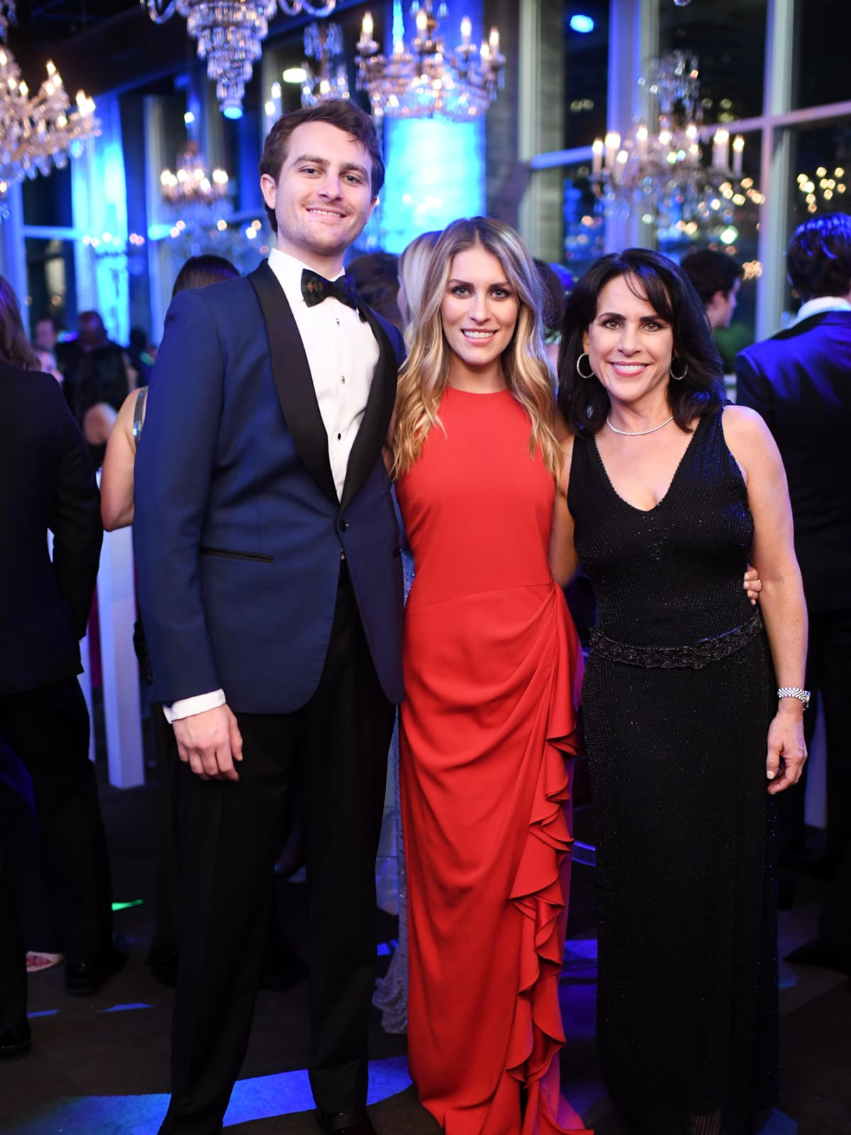 Houston, Jungle Book Gala, Sept. 2017, Pace Andrews, Elizabeth Andrews, Maria Bush