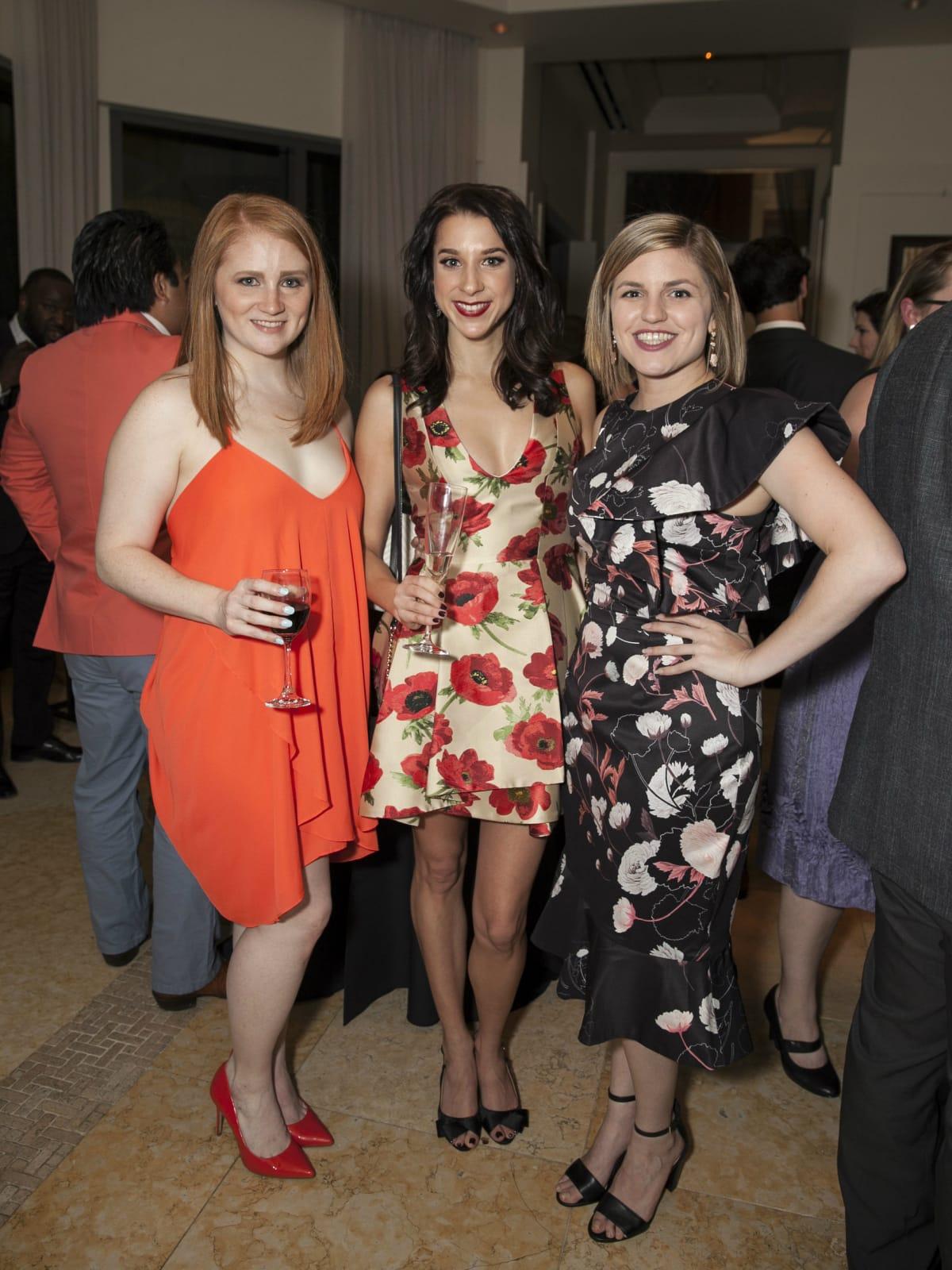 Patricia Ridenour, Erica Stuart, Olivia Utley