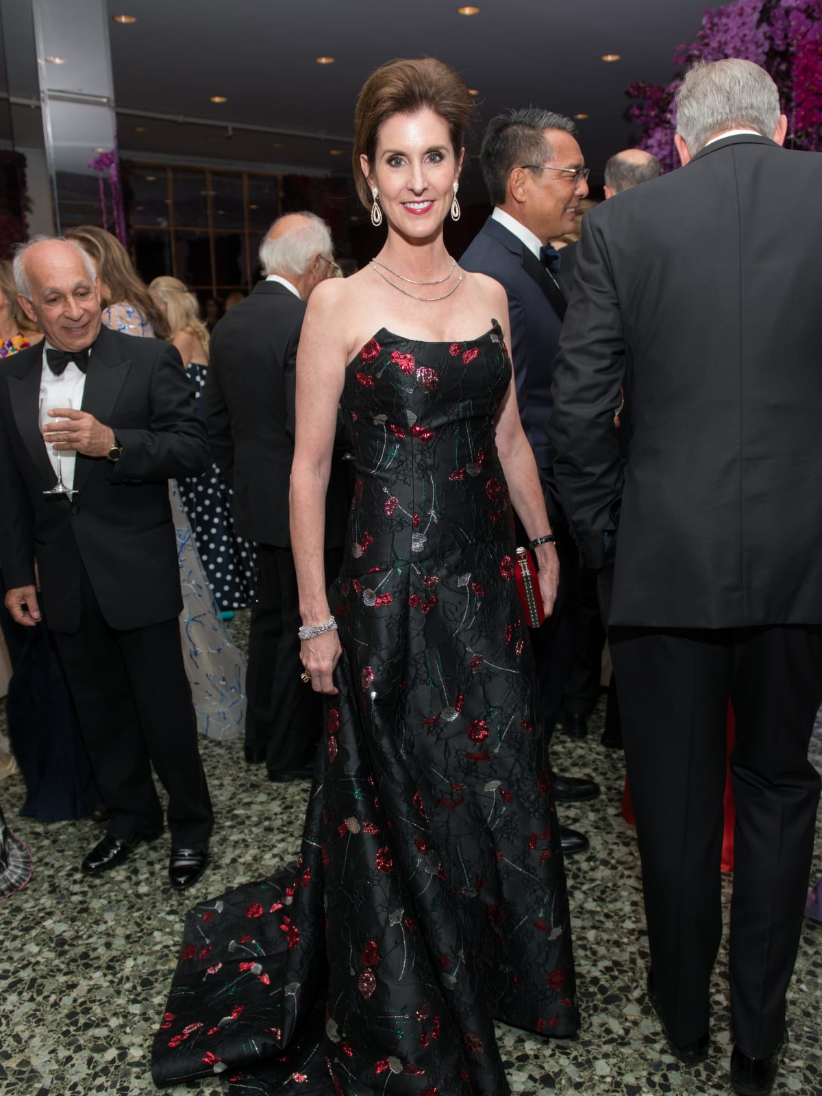 Phoebe Tudor at MFAH Grand Gala Ball 2017