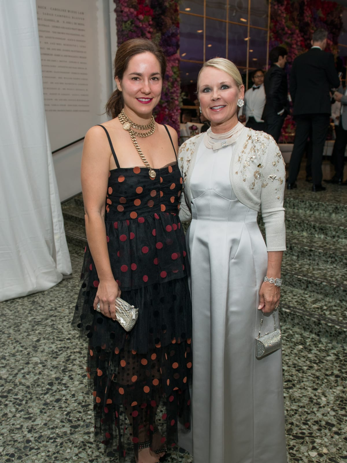 Kelly Barnhart, Mindy Hildebrand at MFAH Grand Gala Ball2017