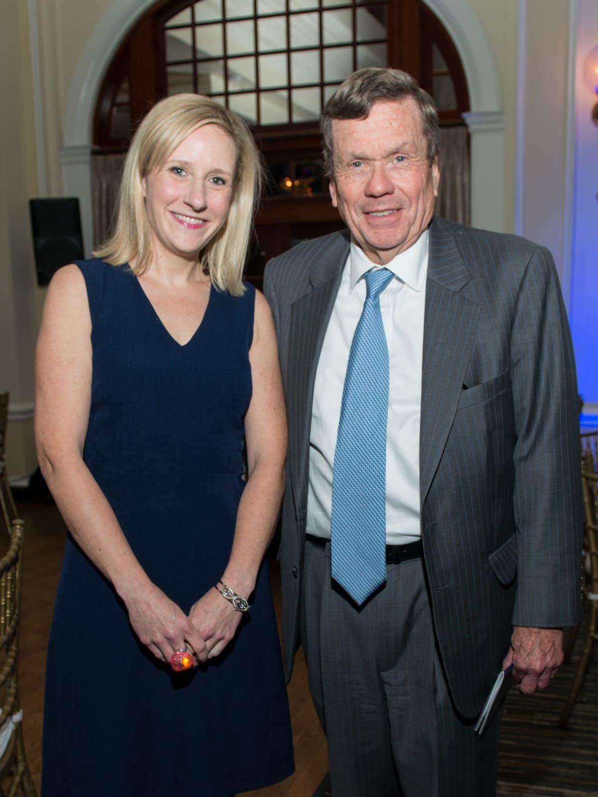 Elizabeth Kennedy, Richard Mithoff at AVDA Gala