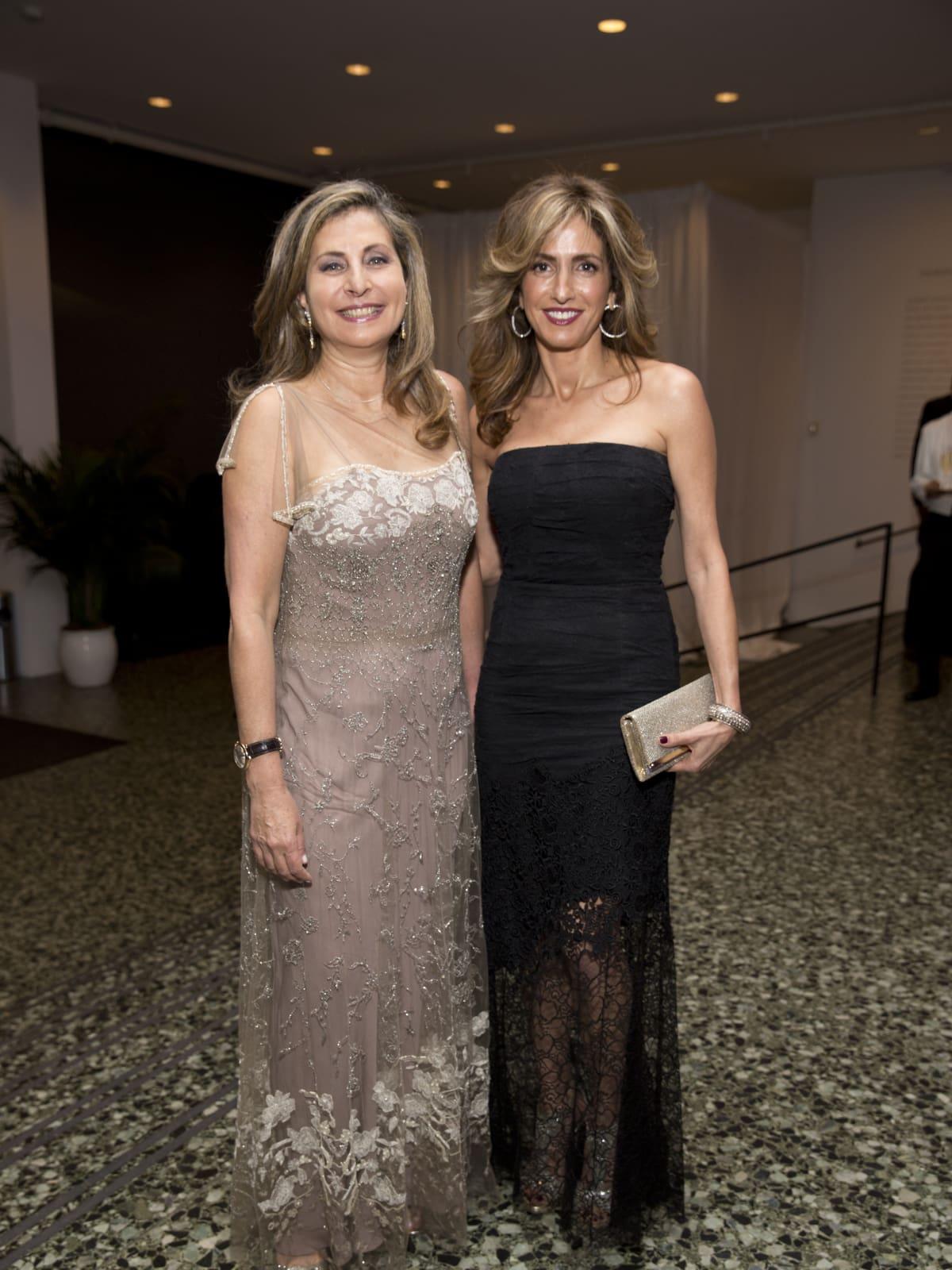 Rania Daniel; Sima Ladjevardian at Museum of Fine Arts Gala