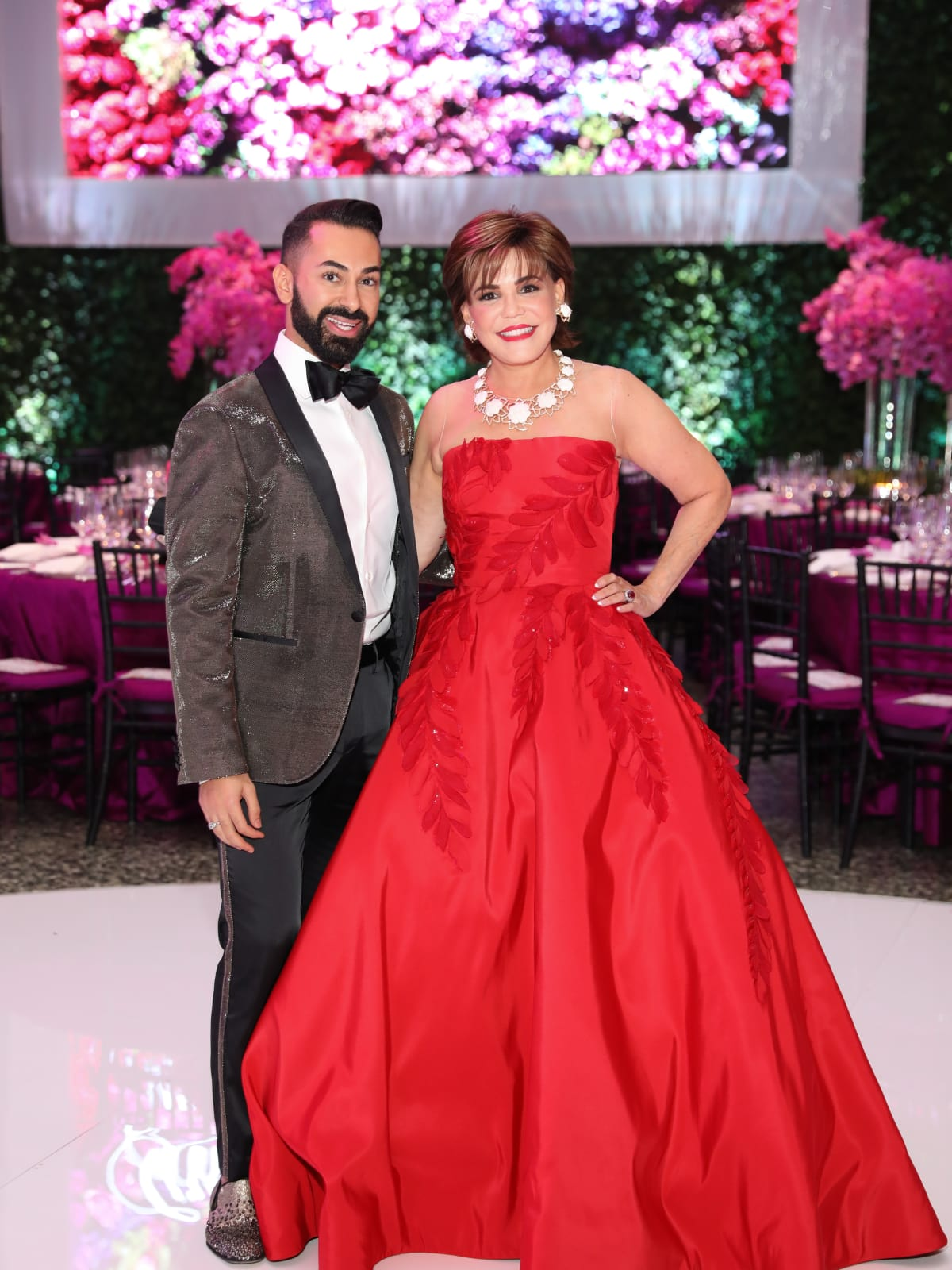 Fady Armanious and Hallie Vanderhider at MFAH Grand Gala Ball