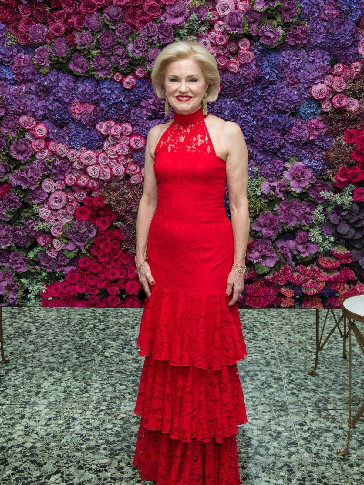 Jo Furr at Museum of Fine Arts Grand Gala Ball