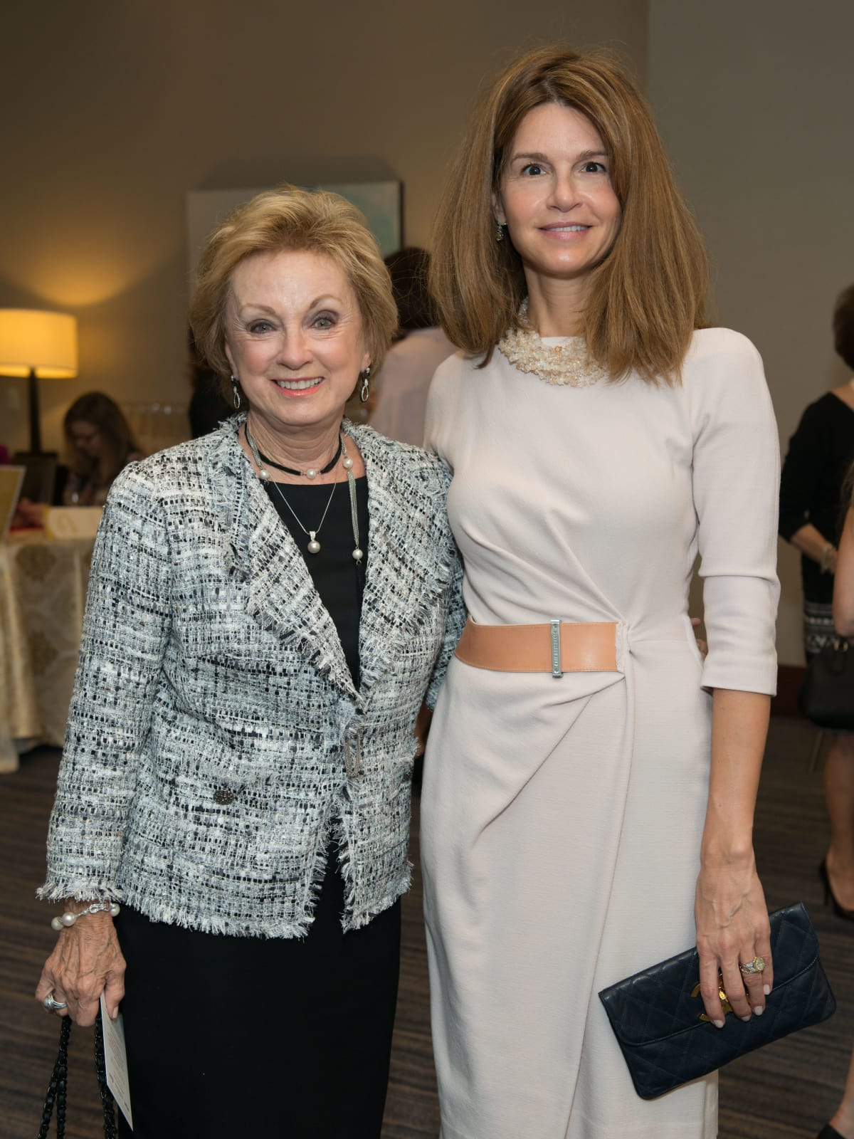 Suzie Johnson, Tatiana Seligman at Memorial Hermann Razzle Dazzle luncheon