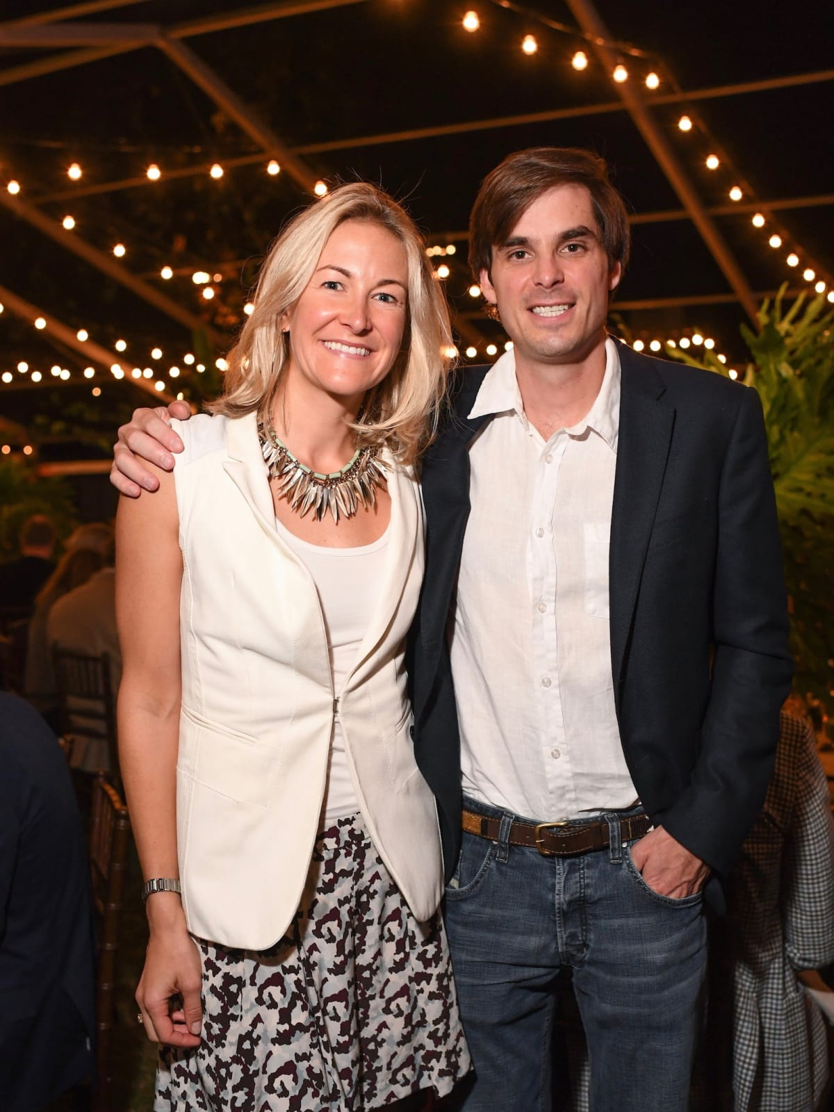 Melissa and Oliver Tuckerman at Nature Conservancy Gala