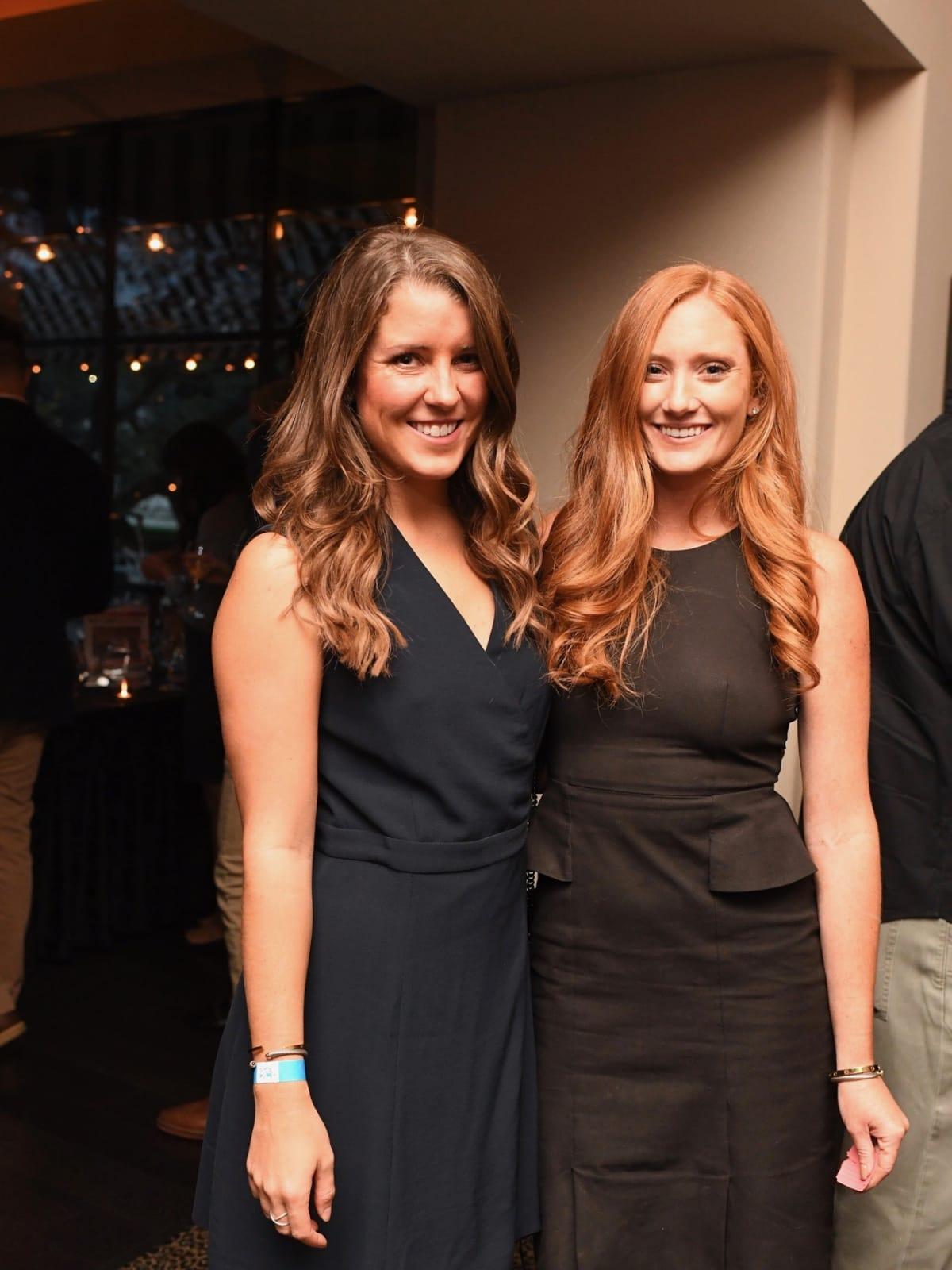 Hope Ward, Gillian Hogan at YHHCC Fall Mixer