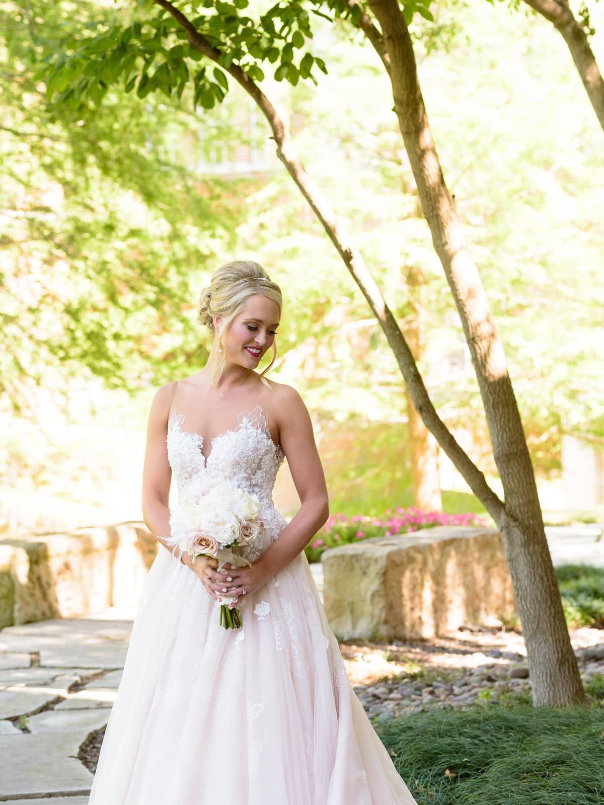 Neely Wedding, Bride