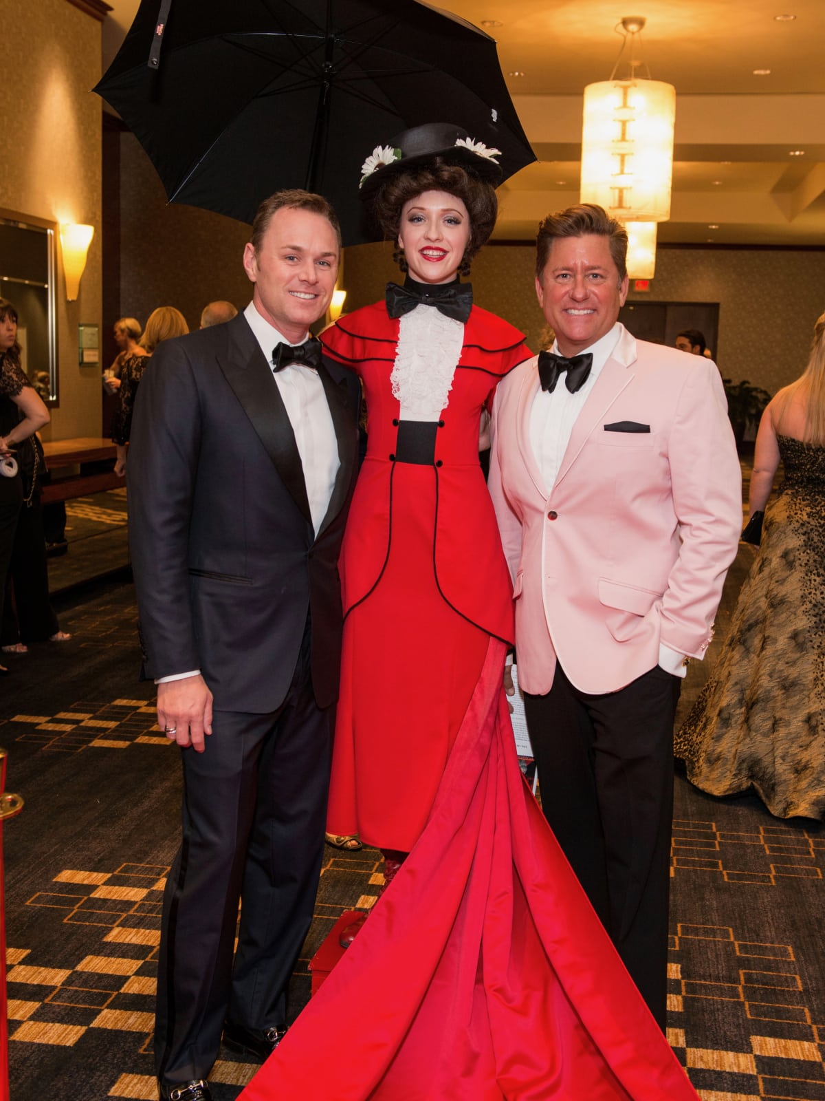 Andrew Cordes, Mary Poppins and Brian Teichman