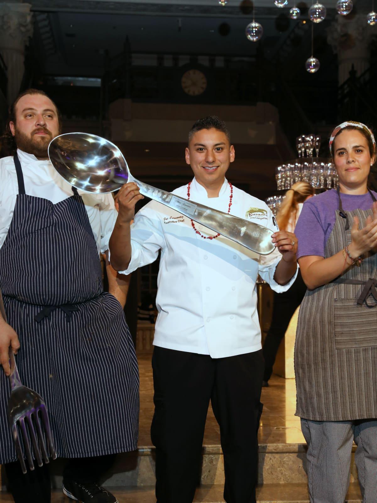 Houston, March of Dimes Signature Chefs, November 2017, executive chef Joe Cervantez of Brennan's