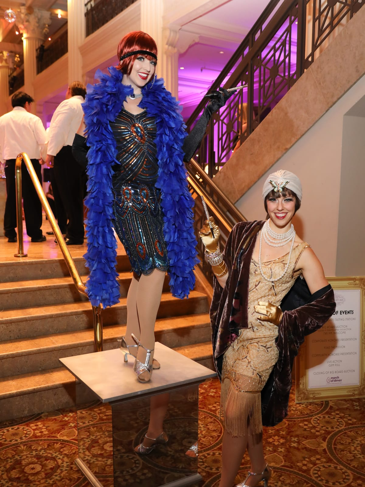 Houston, March of Dimes Signature Chefs, November 2017, flappers