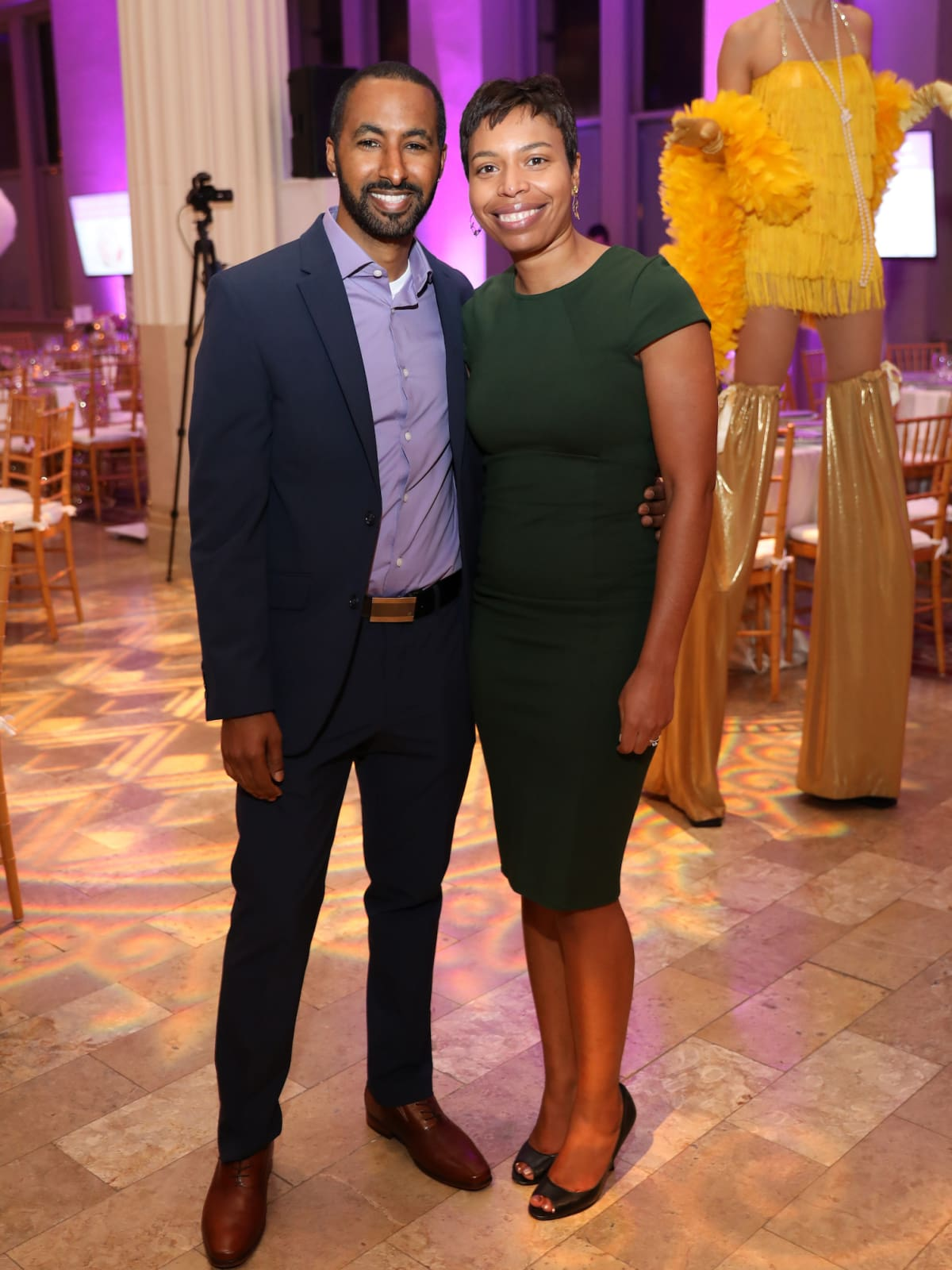 Houston, March of Dimes Signature Chefs, November 2017, Tehquin Tanner and Dr. Lisette Tanner