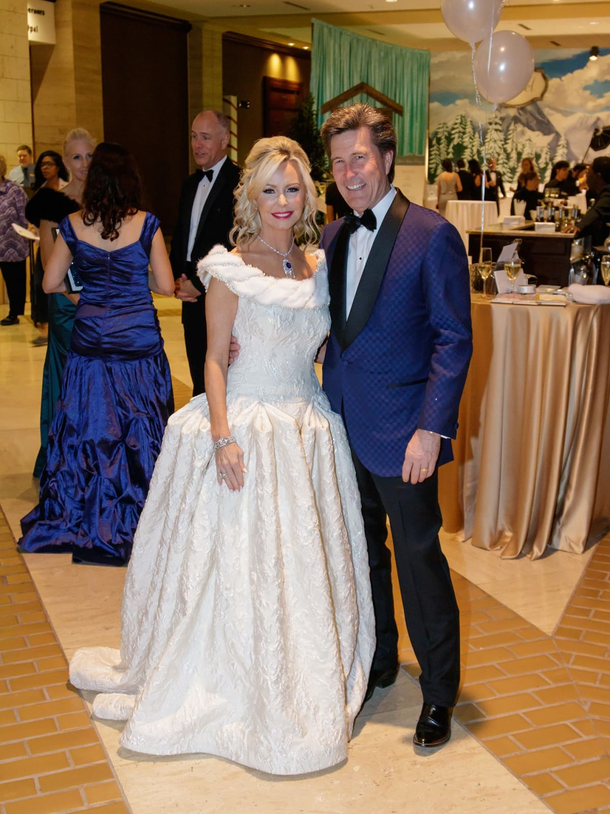 Lisa Cooley, Clay Cooley, Crystal Charity Ball 2017