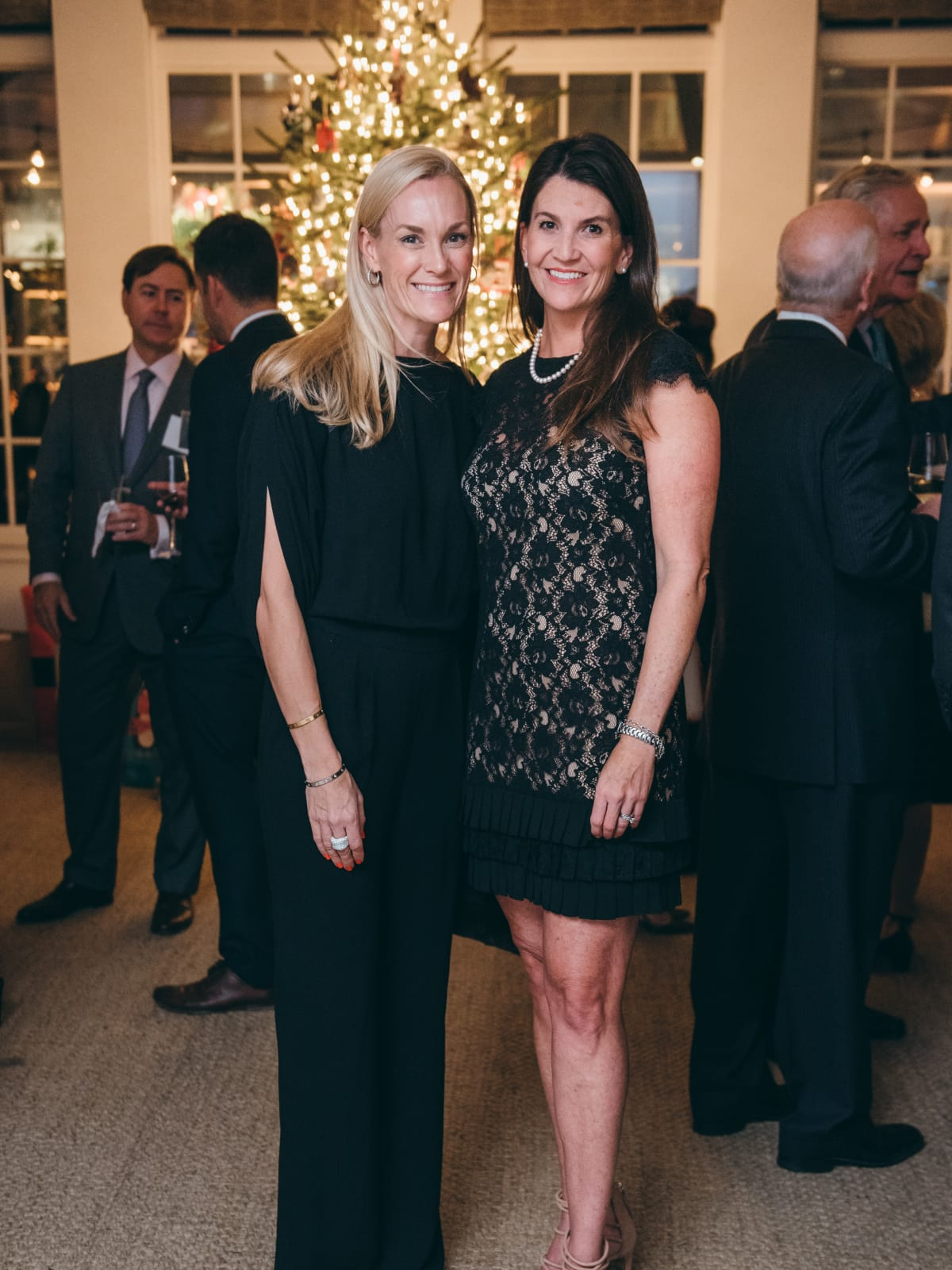 Houston, TCH Ambassadors holiday party, December 2017, Leigh Anne Raymond, Cari Griggs