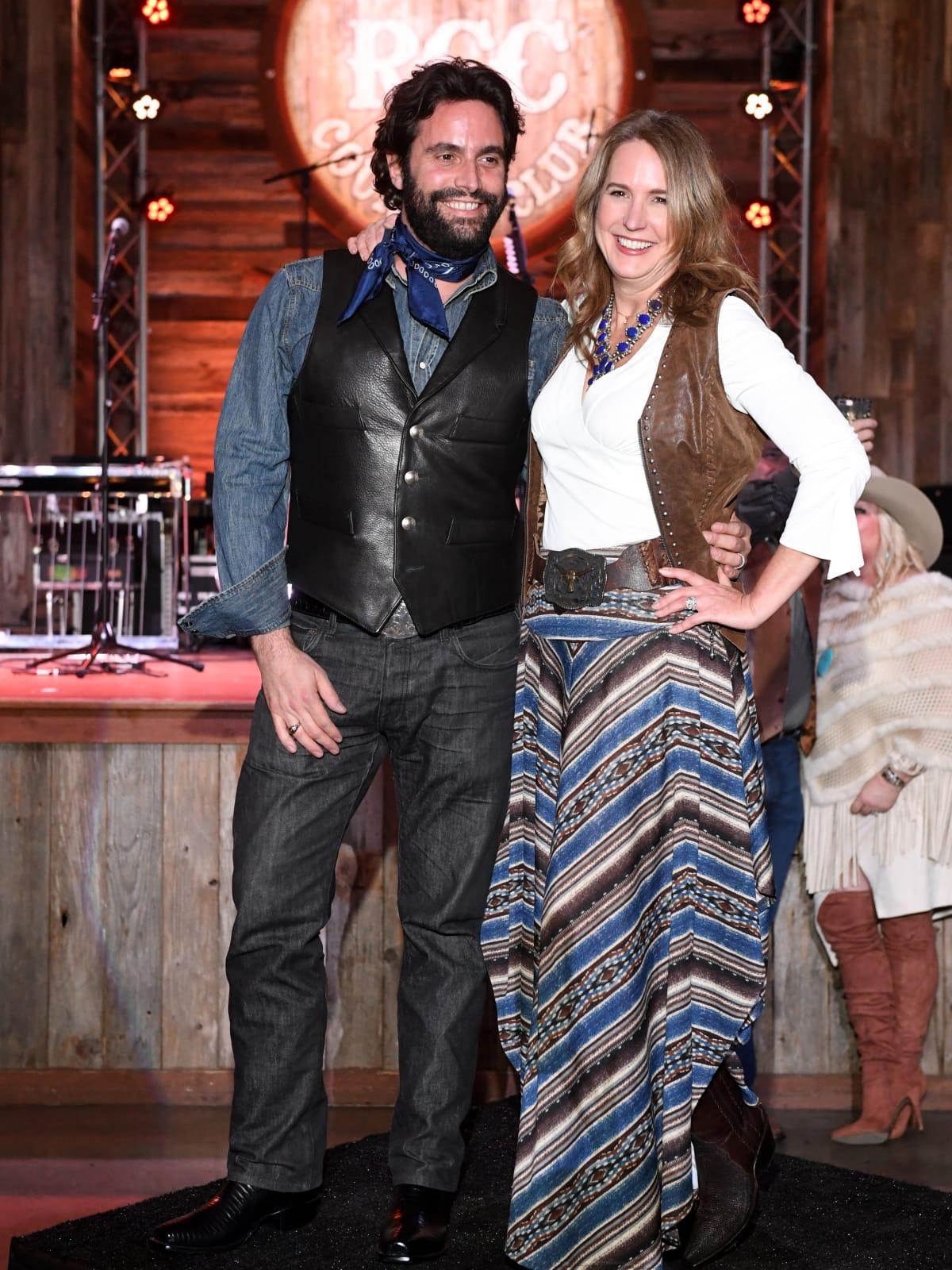 Houston, Kick Up Your Boots for Kids event, February 2018, Sam Governale, Tina Governale