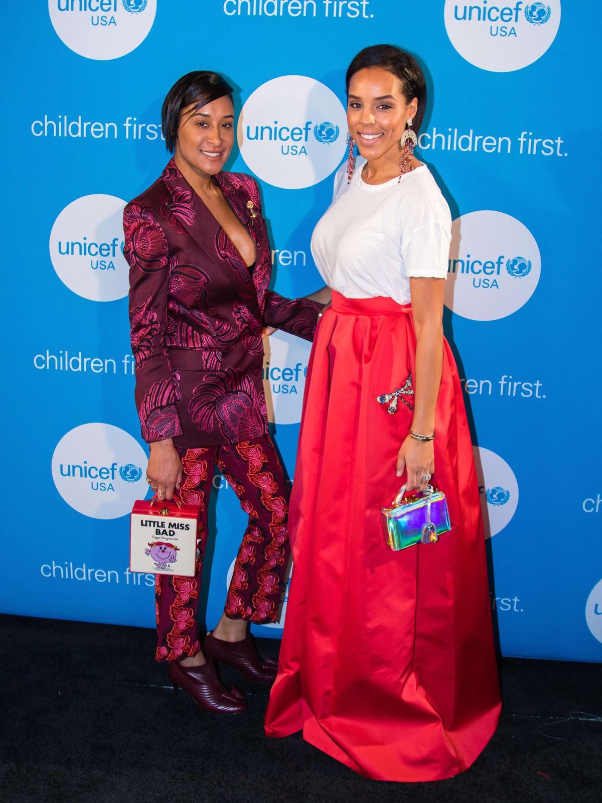 Kimberly Chandler, Jessica Nowitzki, Unicef gala 2018