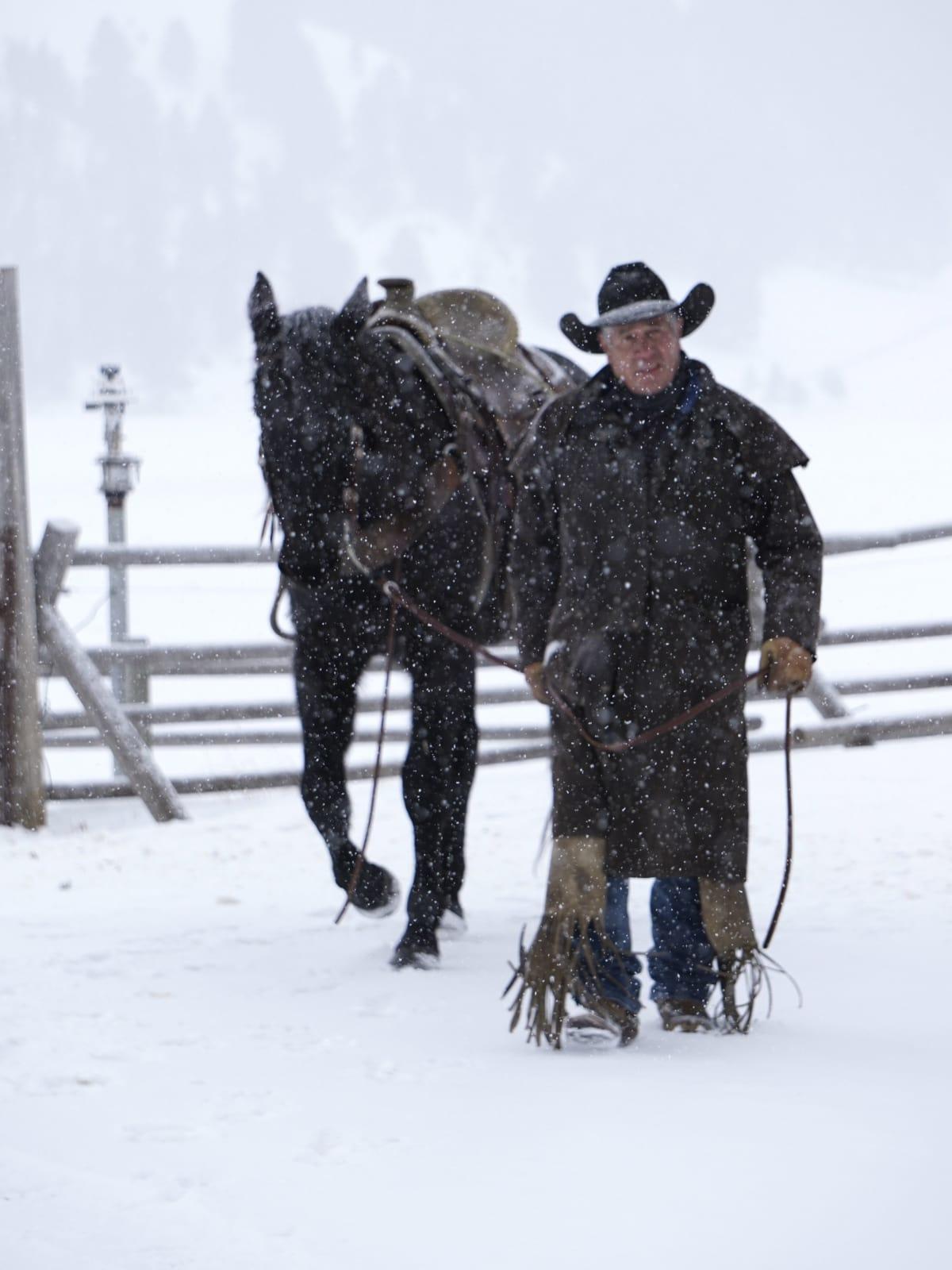 Hoffman - travel - cowboy horse - Montana Ranch at Rock Creek