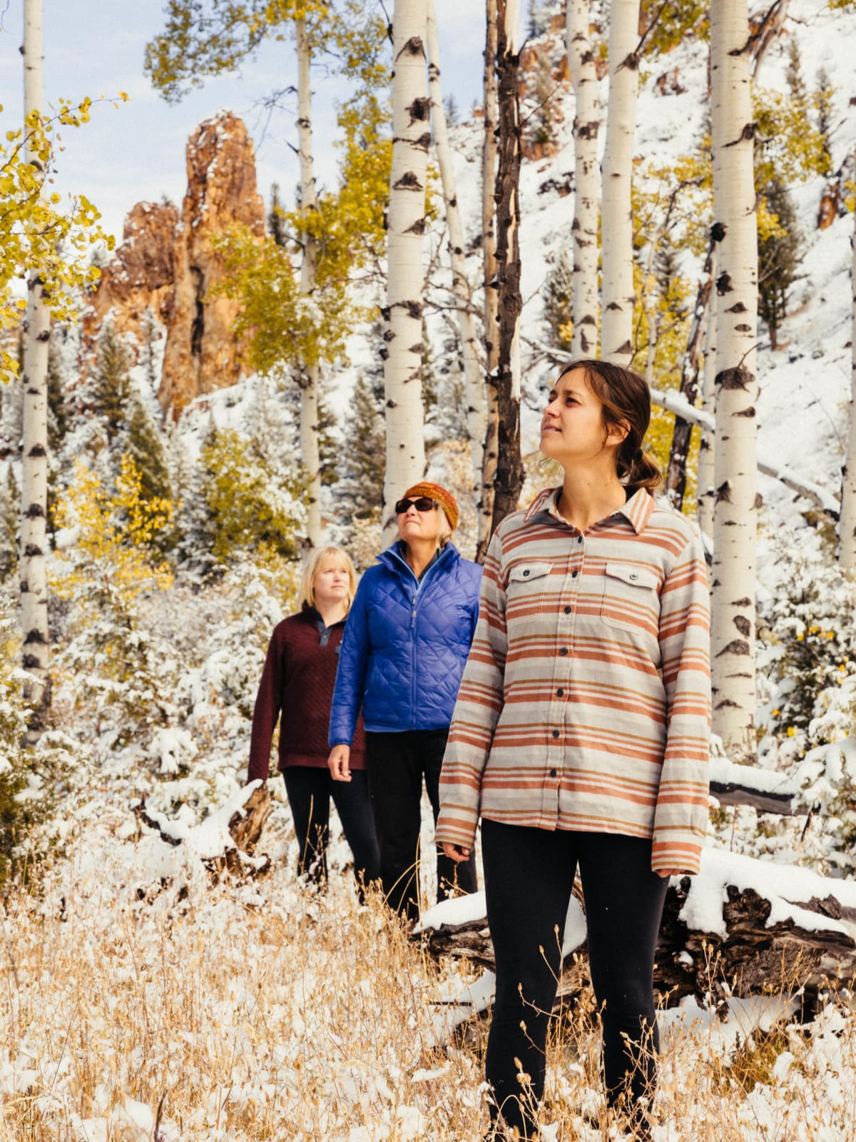Hoffman - travel - nature hike fall spring - Montana Ranch at Rock Creek