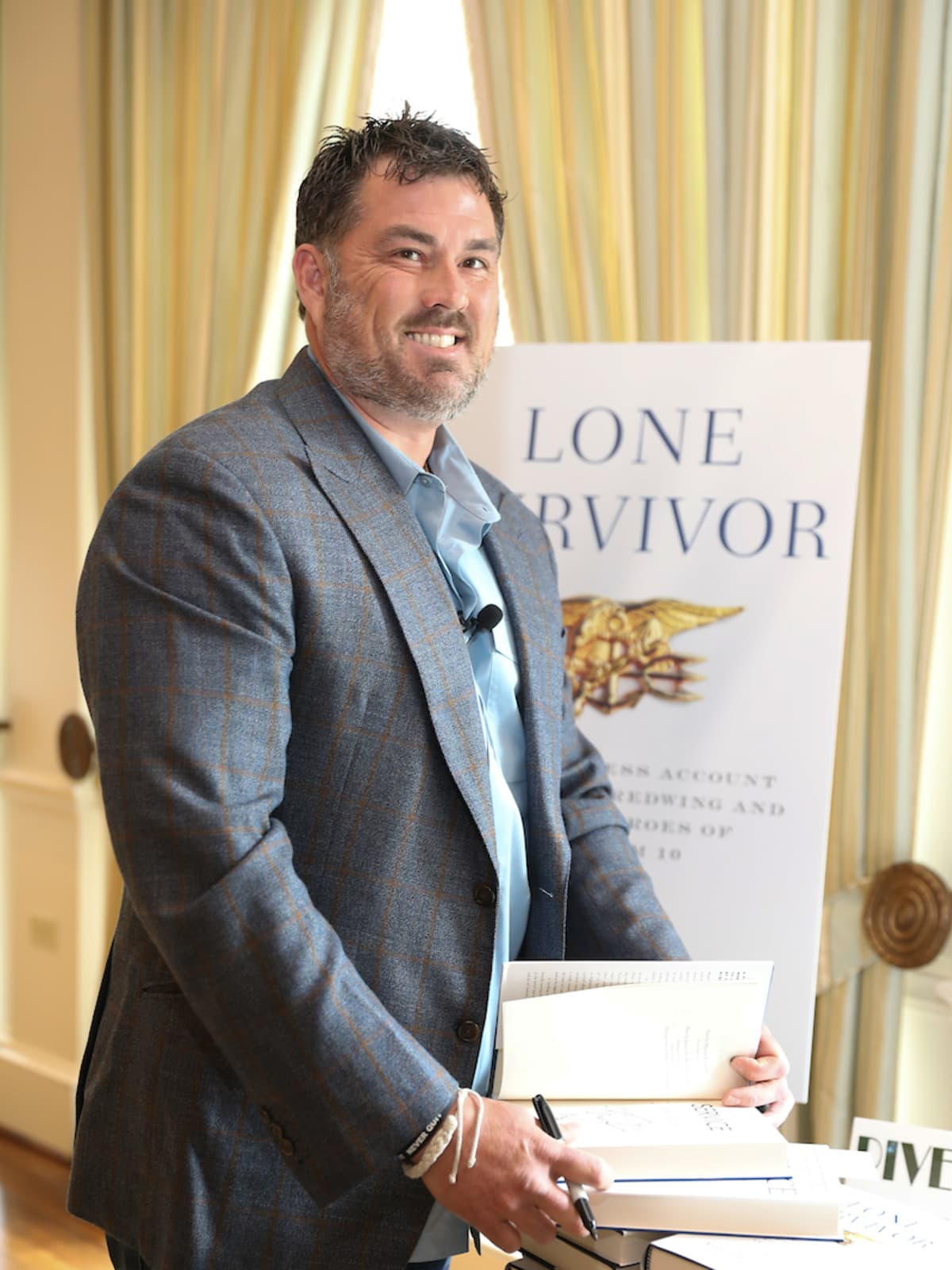 Navy SEAL bestselling author Marcus Luttrell