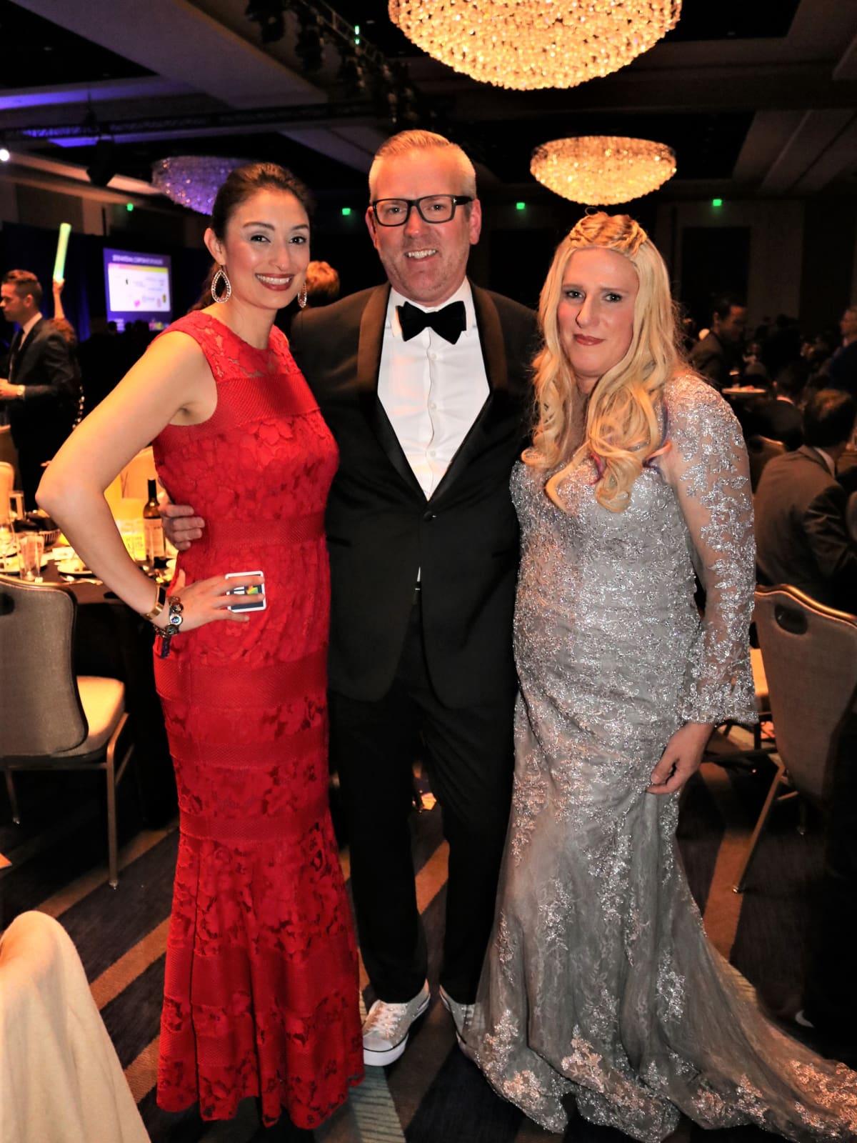 Melissa Dale, Tres Brown, and Amanda Turner