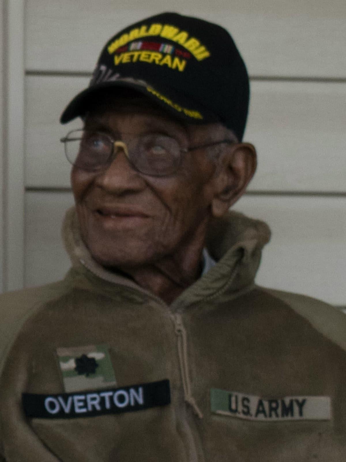 Richard Overton World War II vet