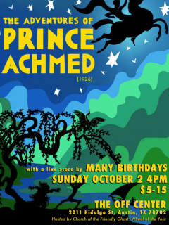Many Birthdays presents The Adventures of Prince Achmed