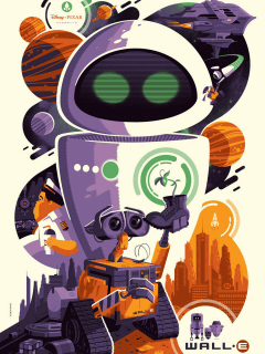 WALL-E Mondo poster