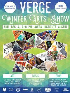 VERGE Local Arts presents VERGE Winter Arts Show