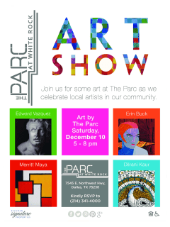 Richman Signature Properties presents Art at the Parc