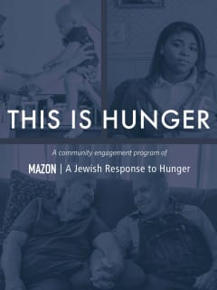 MAZON presents <i>This Is Hunger</i>