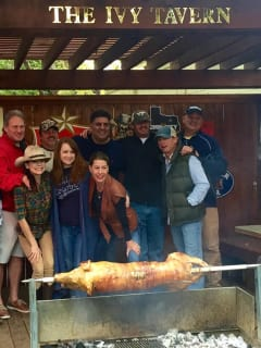 Ivy Tavern presents Patio Pig Roast for Super Bowl