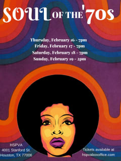 The High School for the Performing and Visual Arts presents <i>Soul of the '70s</i>