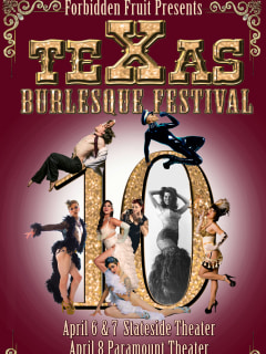 Texas Burlesque Festival 2017 10 Year Anniversary