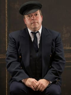 B.J. Cleveland in Brick Road Theatre's A Man of No Importance