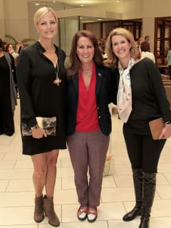Shannon Johnson, Robin Akin and Tessa Mosteller