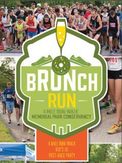 Memorial Park Conservancy presents The Brunch Run