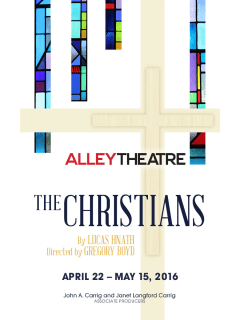 Alley Theatre presents The Christians