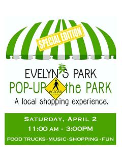 Evelyn's Park Conservancy presents Evelyn's Park Pop-up Across the Park