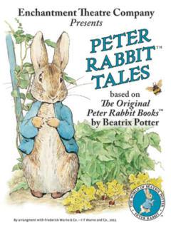 The Paramount Theatre presents Peter Rabbit Tales