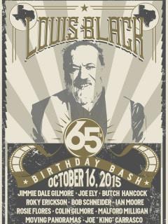 Louis Black's 65th Birthday Celebration Benefiting HAAM