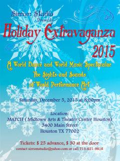 Sirrom Studio presents Holiday Extravaganza 2015