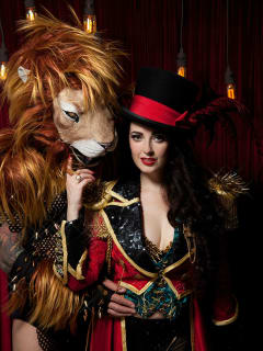 KiKi Maroon / Bayou City Burlesque & Circus Arts Festival / Tansy and Leeon