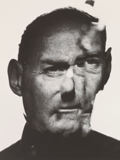 Irving Penn In a Cracked Mirror