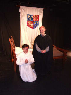 Cast of The King's Face at Out of the Loop Fringe Festival