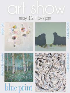 Blue Print Art Show