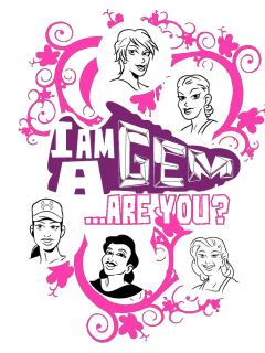 Gems Glam Jam poster