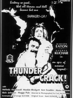 poster for Thundercrack presented by Homo Arigato