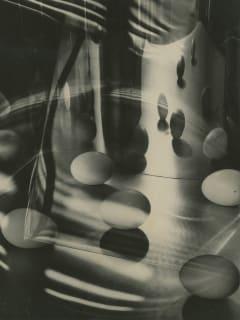 Eggs Encircled, 1948 by Carlotta Corpron
